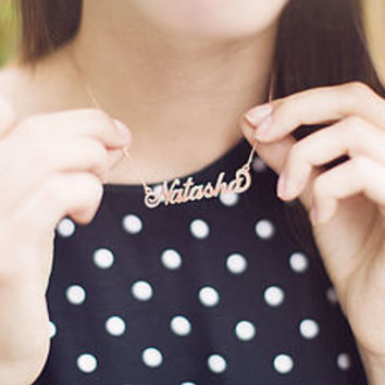 Personalised Handmade Name Necklace