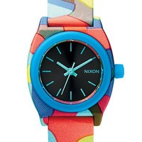 Women's Nixon 'The Small Time Teller' Round Watch, 26mm - Neo Preen