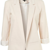 Oyster Boyfriend Blazer - Treat Yourself  - Sale & Offers