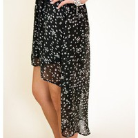 Seeing Stars High Low Skirt - Bottoms - Apparel | Sugar and Sequins