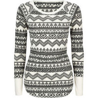 FULL TILT Essential Print Womens Thermal 202944099 | Knit Tops & Tees | Tillys.com