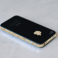 Gold iPhone 4 GSM AT&T Antenna Wrap (Sparkling Gold)