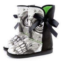 Iron Fist Bone Breaker Fug Boot - Black / White