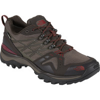 The North Face Hedgehog Fastpack GTX Hiking Shoe - Men's Coffee Brown/Rosewood Red,