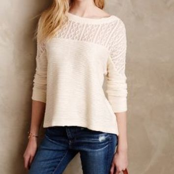 Cirrus Lace Pullover by Saturday/Sunday Blue