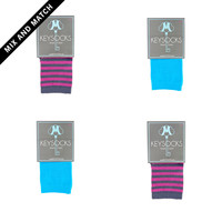 Girl's No Show Sock 4 Pack - Mix & Match