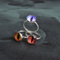 10mm Draconis Eye Ring