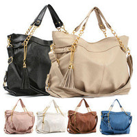 New WOMENS HANDBAG TOTE BAG SHOULDERBag Worldwide FreeShipping 7Color