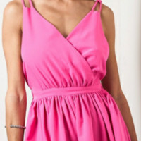 Tara With Love Pink Romper