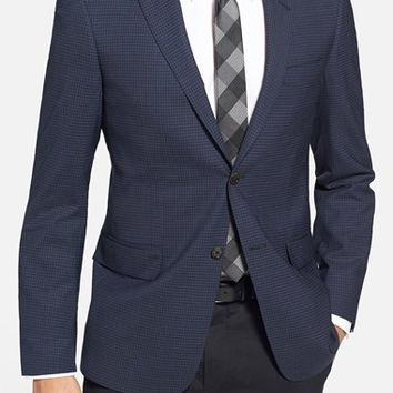 Todd Snyder White Label Trim Fit Check Wool Sport Coat,