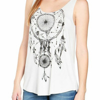 Dreamcatcher Tank by No Rest for Bridget-FINAL SALE