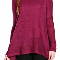 Zoe Open-Stitched Top