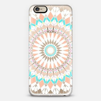 Pastel Feather Star Transparent iPhone 6 case by Organic Saturation | Casetify
