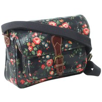 Cath Kidston Chelsea Mini Saddle Bag, Black online at JohnLewis.com - John Lewis