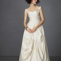 Sweeping Taffeta Ball Gown in  SHOP Attire Gowns at BHLDN