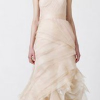 Modern Wedding Gowns:  Vera Wang