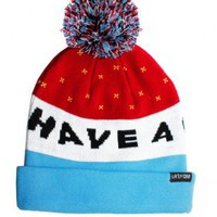 Lazy Oaf | Lazy Oaf | Have a Crap Day Bobble Hat