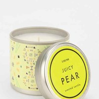 Printed Tin Candle- Juicy Pear One