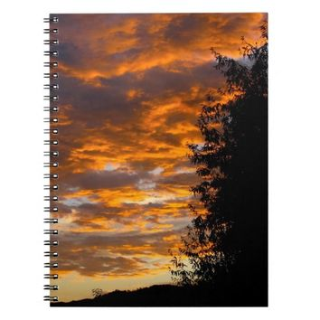 Orange Skies Notebook