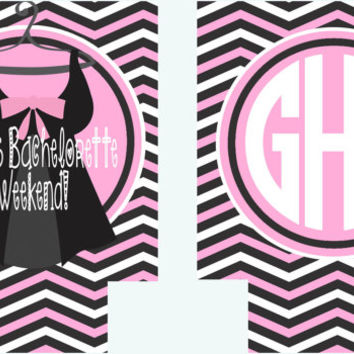 Bachelorette or Birthday Lingerie Koozies. Bachelorette Koozies. Monogram Bachelorette Party Favors. Personalized Coozies!