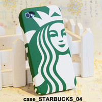 new 3D STARBUCKS Skin Hard Case Cover for iPhone 4S 4 Protect Case