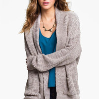 Cotton Emporium Oversized Cardigan (Juniors) | Nordstrom