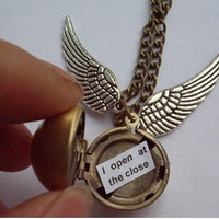 Harry Potter Golden Snitch Necklace - Always - You Choose the Snitch