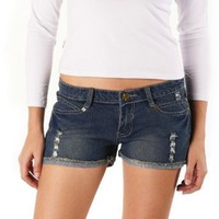 Jessie G. Women`s Distressed Denim Shorts $9.99