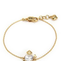 STONE HEART & CROWN WISH BRACELET by Juicy Couture