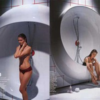 Reinventing The Bathroom : Bathtub + Shower by Ron Arad