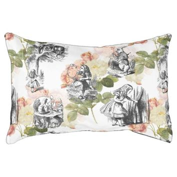 Alice in Wonderland Vintage Roses Dog Bed