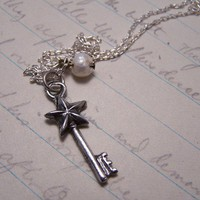 Fairy Wish Key Necklace by EmilinaBallerina on Etsy