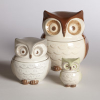 Owl Measuring Cups, Set of 3 | World Market