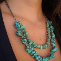 DIY: Beaded necklace using crimp beads |