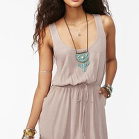 Crossroads Dress - Taupe