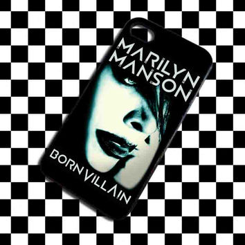 Marilyn Manson Poster iPhone Case And Samsung Galaxy Case