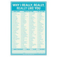 Why I Really Like You Pad ? Funny Notepad by Knock Knock