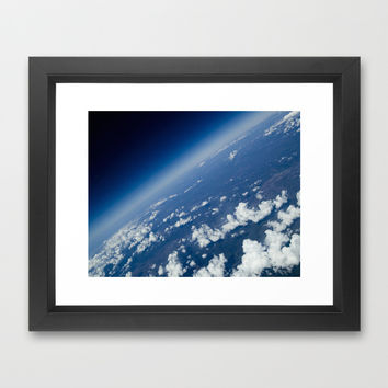 infinite space Framed Art Print by VanessaGF