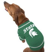 NCAA Michigan State University Pet T-Shirt, Medium $10.92