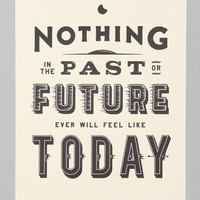 Matt Chase Nothing Past Nothing Future Art Print