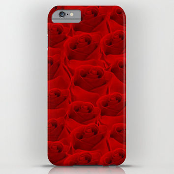 Valentine's Day Gift HIGH QUALITY iPhone CASE iPhone 6 iPhone6 Plus iPhone 5 Slim and Tough -Infinity #Bouquet of #Red Roses