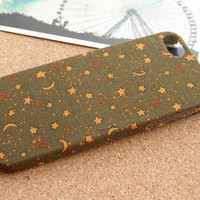 Star iPhone 5 Case, Fabric iPhone 5 Case