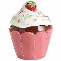 Pier 1 Imports - Product Details - Cupcake Cookie Jar