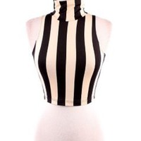 Striped Crop Top — Tanny's Couture LLC