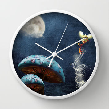 Tales of the Night Wall Clock by Texnotropio