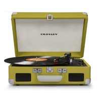 Crosley Cruiser Turntable II CR8005C - Portable Battery Powered! - Green