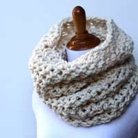 Oversized Cowl Hoodie or Snood in Fisherman - Ready to Ship