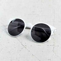 Cutout Round Sunglasses-