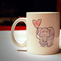 Elephant Mug from Evolve Designs by Kaitie Monda