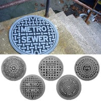FEET FIRST: MANHOLE MATS?